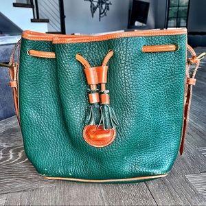 Vintage • Dooney & Bourke • drawstring purse